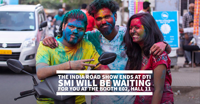 The India road show ends at DTI. SMI will be waiting for you