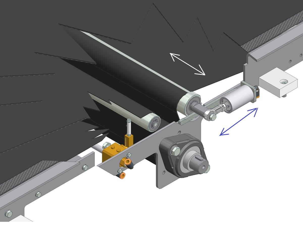 ZF010011 - Sistemas de centralização automática de correia