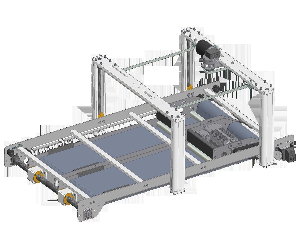 ZF010017/18 - Estabilizador de produto motorizado