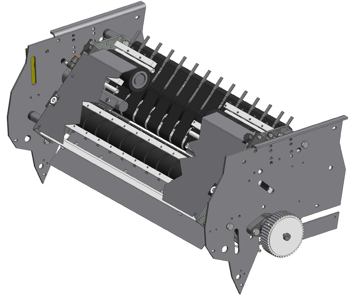 ZF010020 - Grupo de facas com correia para série LSK