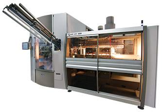 Máquinas rotativas de sopro por estiramento para recipientes de 5-10 L em PET