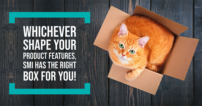 Whichever shape your product features, SMI has the right box for you!