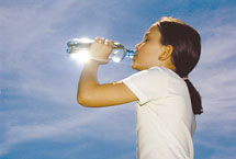 Newsletter N°13/2008 - Annual consumption of water