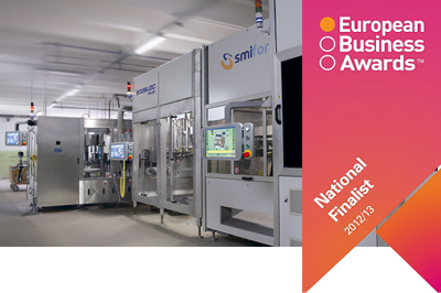 Newsletter N° 6/2012 - SMI is a finalist of the European Business Awards