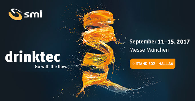 Countdown to Drinktec. Find out what's new at SMI!